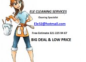 Studios cleaning services