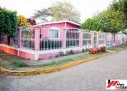 Casa en residencial las flores - masaya
