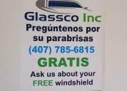 ¡llama ya y obtÉn un nuevo parabrisas gratis!