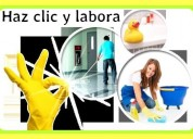 Mantenimiento en limpieza de hogares