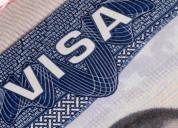 Asesorías y tramites en eeuu. visas.