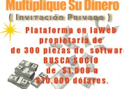 Busco socio  inversionista,