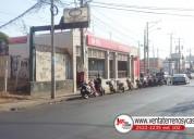 Se vende terreno en avenida principal de ciudad ja