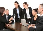 Oferta de empleo a tiempo compartido o completo