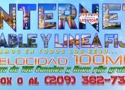 Internet - cable y linea fija gratis