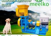 Electric extruder to make dog food