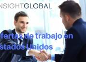 Insight global tiene más de 20.000 empleos