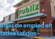 Publix ofrece 130empleos disponibles estadosunidos