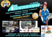 Aires acondicionados reparaciones e instalaciones