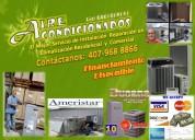 Aire acondicionado residencial y comercial
