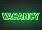 Te ofrecemos trabajo !!!