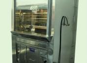 Horno ecologico para pollos a la brasa - asadores de pollo