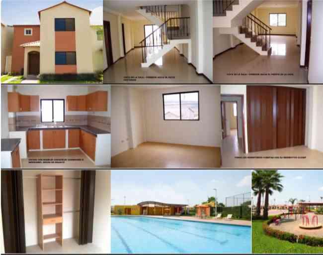 Vendo casa 3 dormitorios en Guayaquil - Ecuador