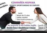Trabajo para hispanos en south carolina