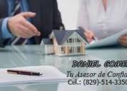 servicios de bienes raíces y agrimensura