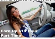 Trabajo x horas conductoras(es) delivery $19/h