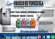 Servicio técnico en refrigeración 04169522822