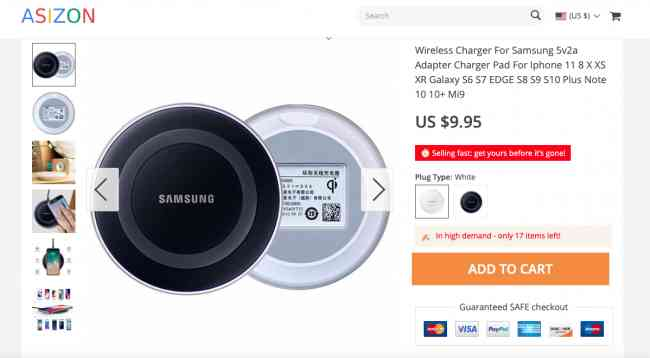 Wireless Charger For Samsung