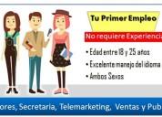 Exelente oportunidad   de empleo