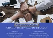 Se busca persona emprendedora (ventas)