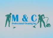 M & c professional cleaning inc