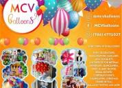 Animación y arreglos de globos para tu evento