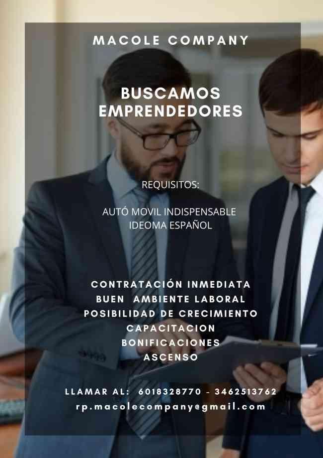 BUSCAMOS PERSONAS CON GANAS DE TRABAJAR