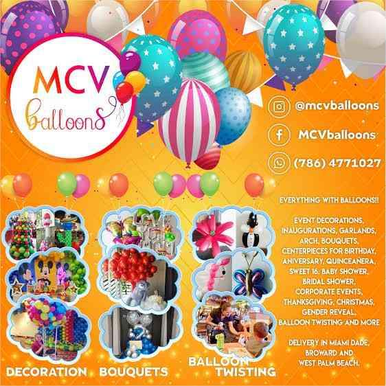 Animation and balloon arrangements