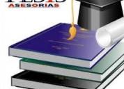 Mecanografío monografías ,tesis,cartas,documentos