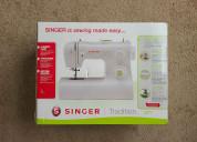 Vendo maquina de coser singer nueva sellada caja