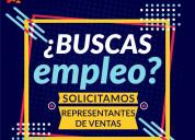Empleo - ejecutivos de ventas!!!