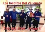 Grupo vallenato en weston // 786 355 3039