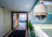 Security cameras .