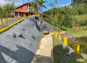 Casa campestre en colombia