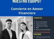 Asesor de servicio financiero
