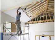 Trabajos en drywall (sheetrock)