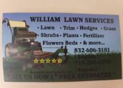 William lawn services