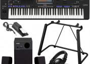Yamaha genos 76-key arranger workstation