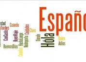 Clases español para principiantes y nivel avanzado