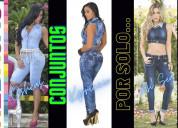 Jeans colombianos 100% levantacola