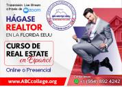 Curso de real estate, inscripciones abiertas