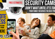 Cctv home and business installation
