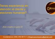 Personal para call center