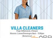 Limpieza de villas (clermont)
