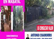 Terreno para toda inversion centrica en masaya